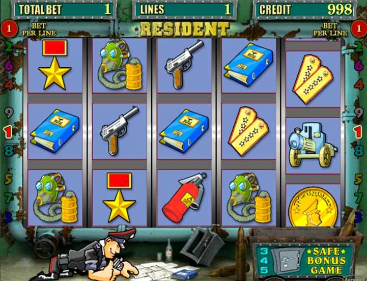 Играть в Resident бесплатно - игровой автомат от казино Вулкан.