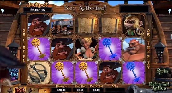 Treasure island Остров сокровищ от GloboTech - Игровые автоматы на.