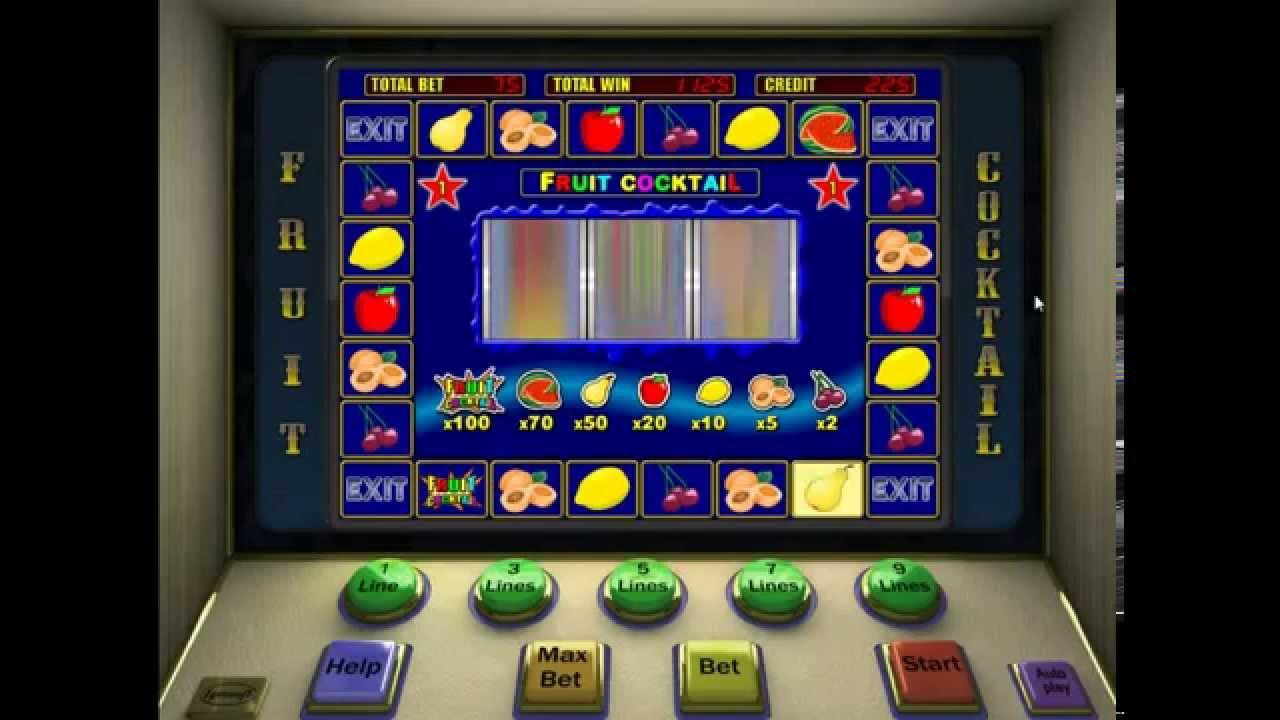 Игровой автомат Клубника Fruit Cocktail играть