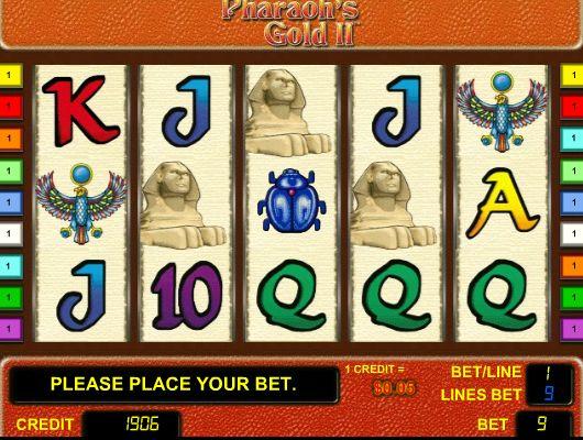 Игровой автомат Pharaohs Gold III Золото Фараона 3, Фараон