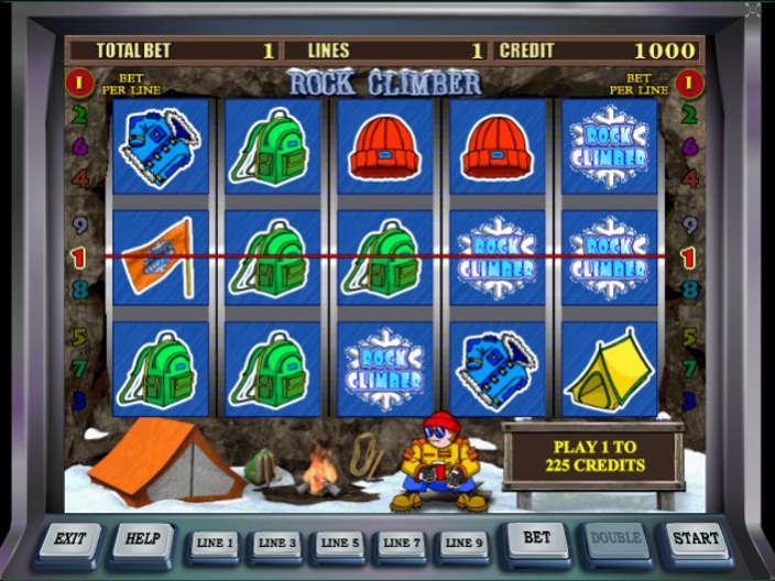 Игровой автомат Rock Climber – играть в онлайн-слот.