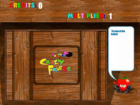 Сочный игровой автомат Crazy Fruits онлайн без регистрации